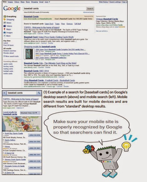 Notify Google of Mobile Sites
