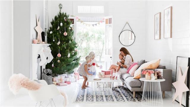 suave interior de Navidad chicanddeco