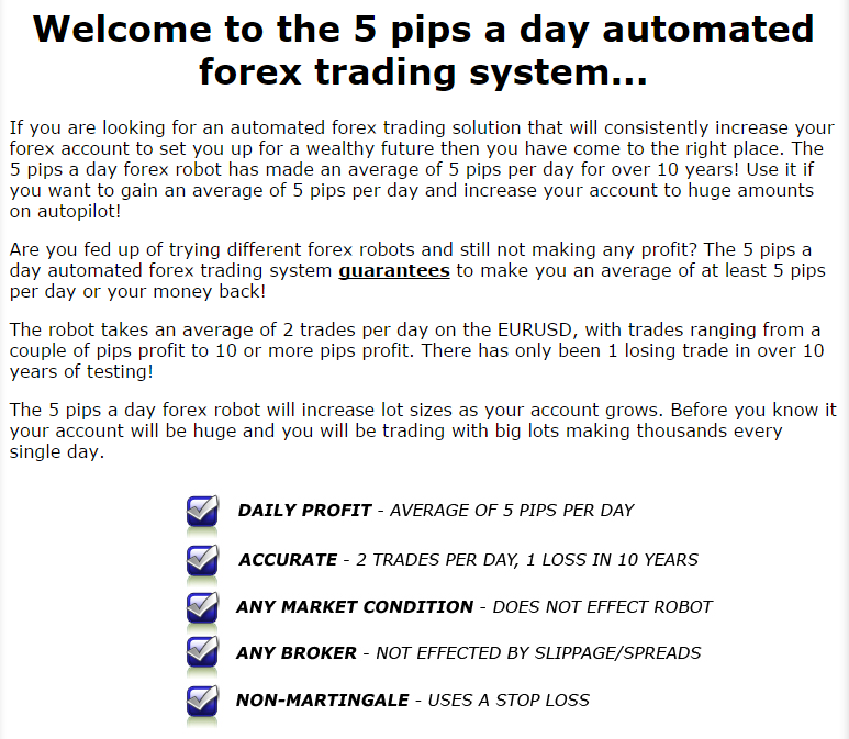 Forex 100 pips a day system