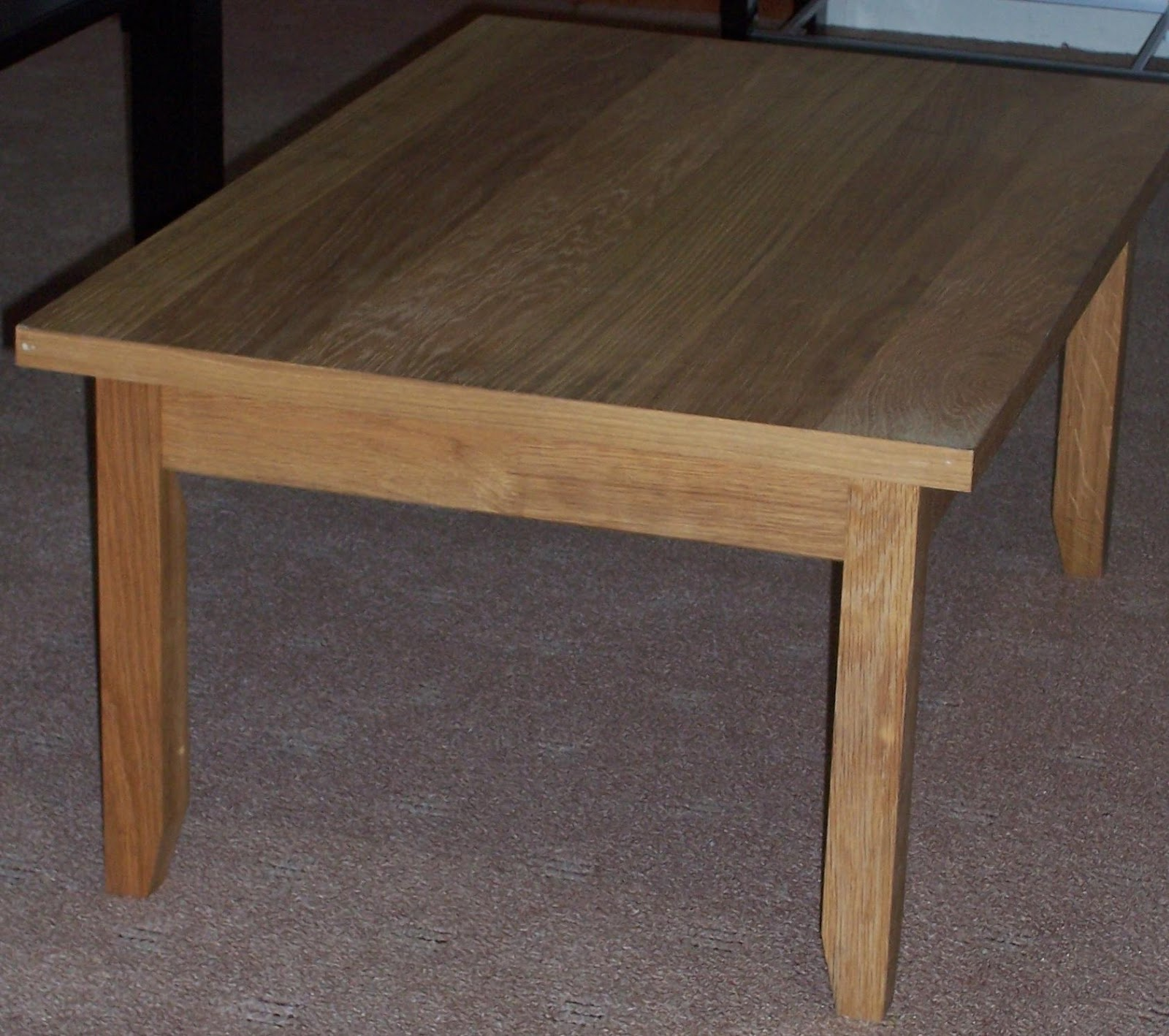 Oak veneer coffee table for your reference - Table wenge ikea ...