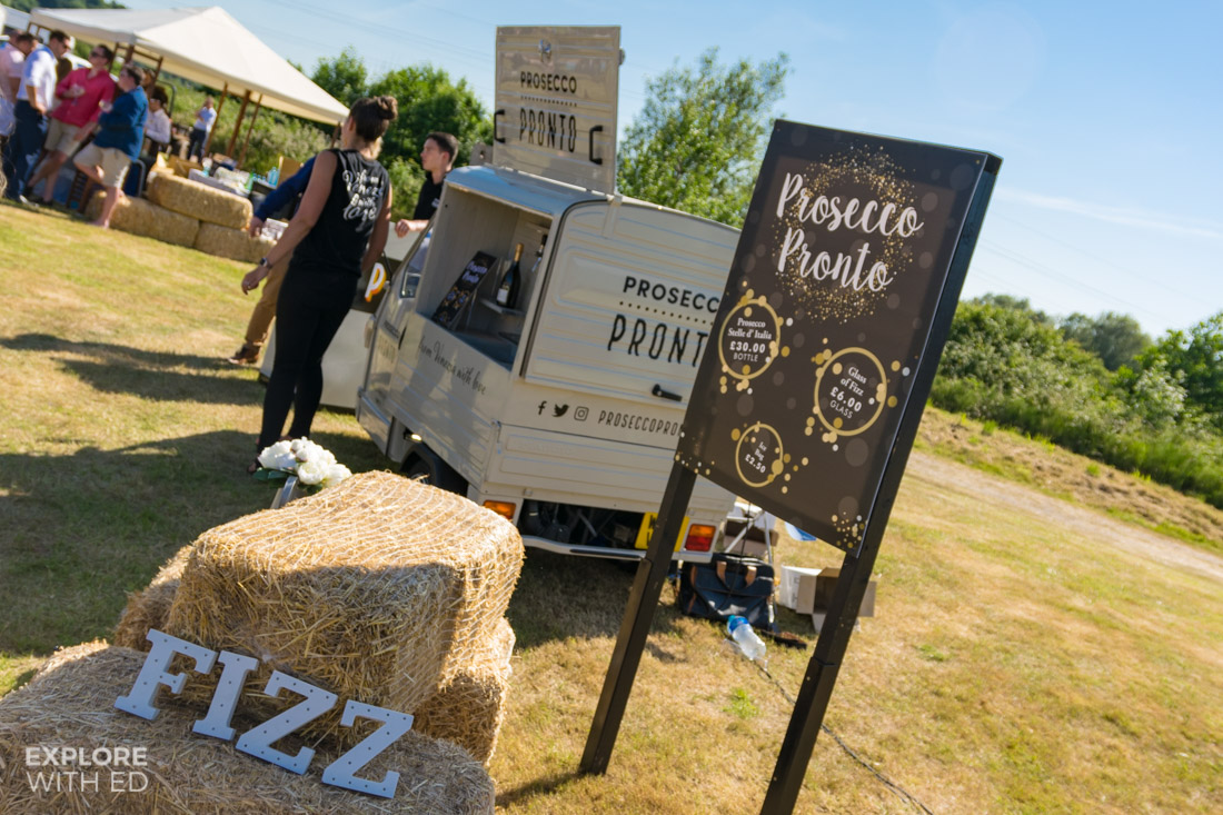 Prosecco Pront Pop Up Van