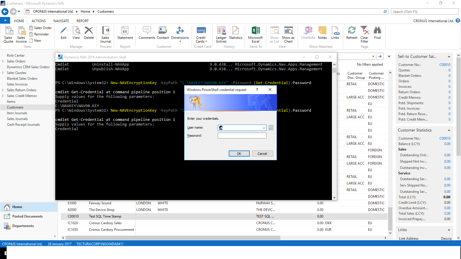 Nandesh Gowda Configure Sql Server Authentication In Microsoft Database Encryption Software Run The Import Navencryptionkey Cmdlet To Install Key On Dynamics Nav Instance And