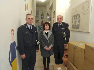 Προσφορά  της ΕΛ.ΑΣ. σε ιδρύματα της Πελοποννήσου