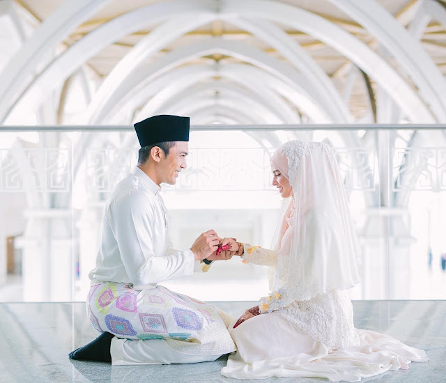 Gambar Pernikahan Saharul Ridzwan 2
