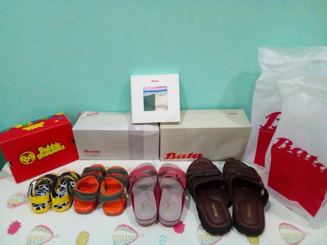 Seronoknya Shopping Kasut Raya di Bata