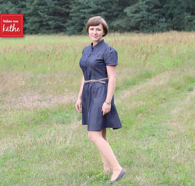 Dolores von Milchmonster als Jeanskleid