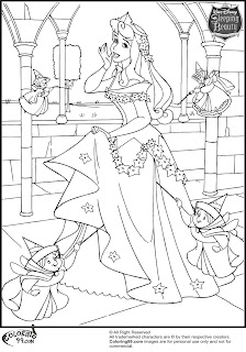 Disney Princess Aurora Coloring Pages | Team colors