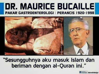 Dr. Maurice Bucaille Masuk Islam Setelah Meneliti