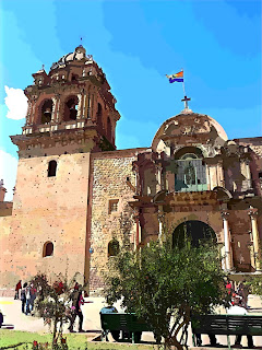 Iglesia y Convento de la Merced, em Cusco