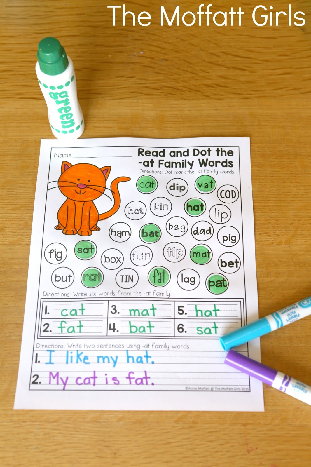 How To Teach Cvc Word Families