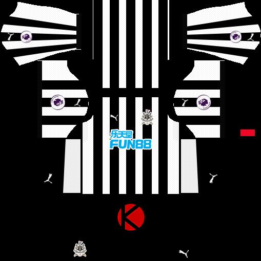 Newcastle United FC Kits 2017 2018 - Dream League Soccer - Kuchalana 8a7dc759f6e18