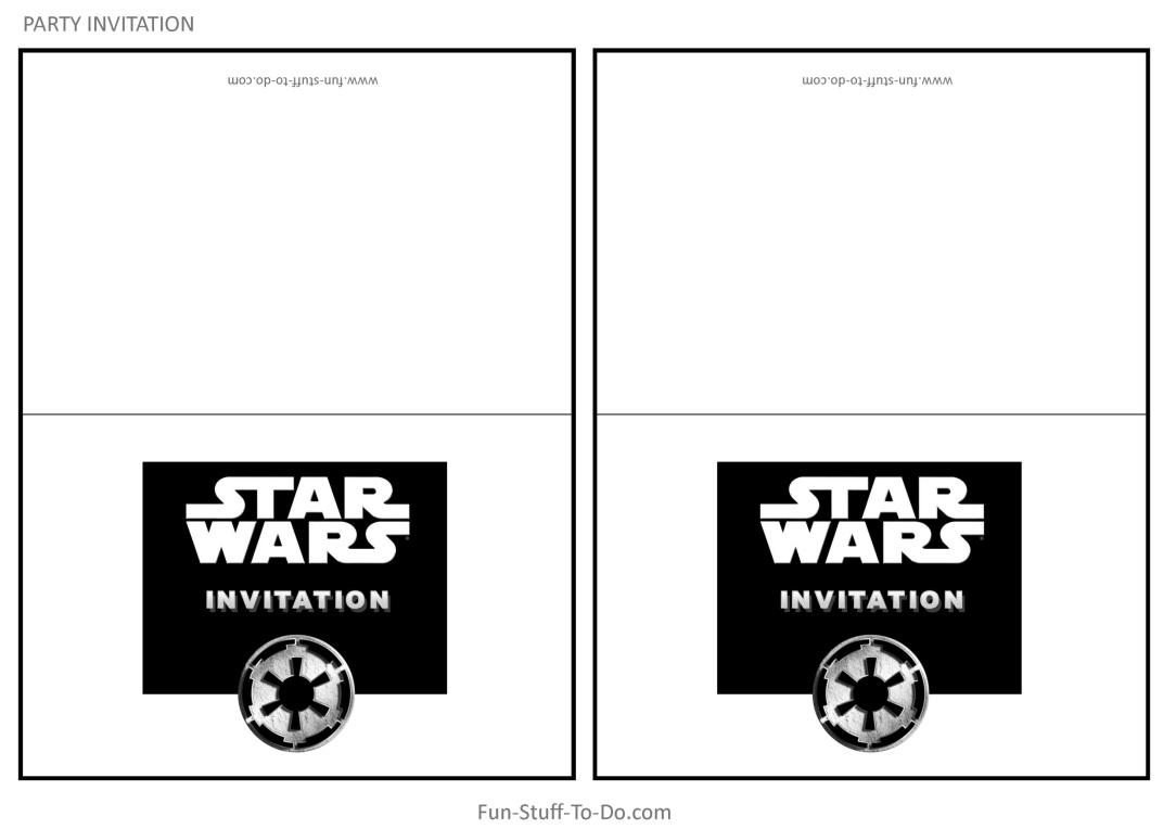 żółty Balonik Star Wars Zaproszenia