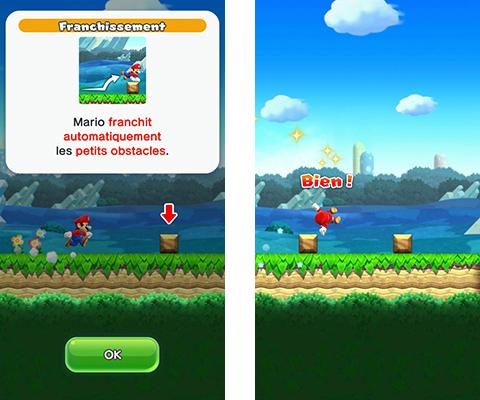 Super Mario Run Franchissement