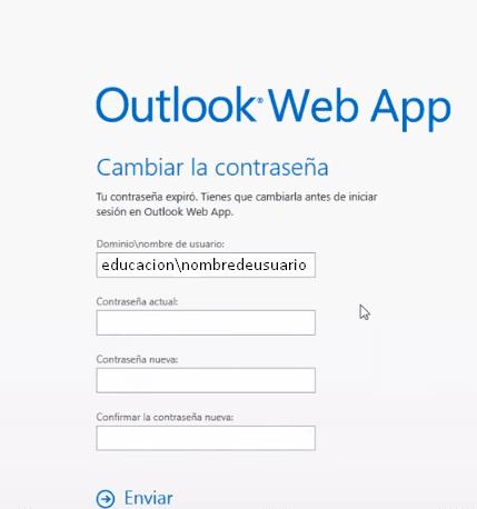 cambiar contraseña correo docentes ecuador 2016