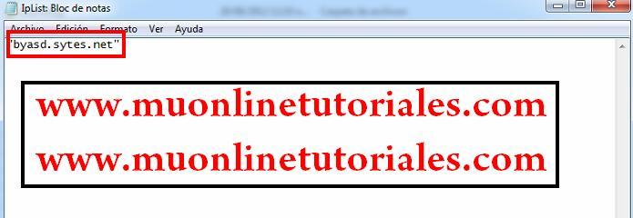 Configurando iplist
