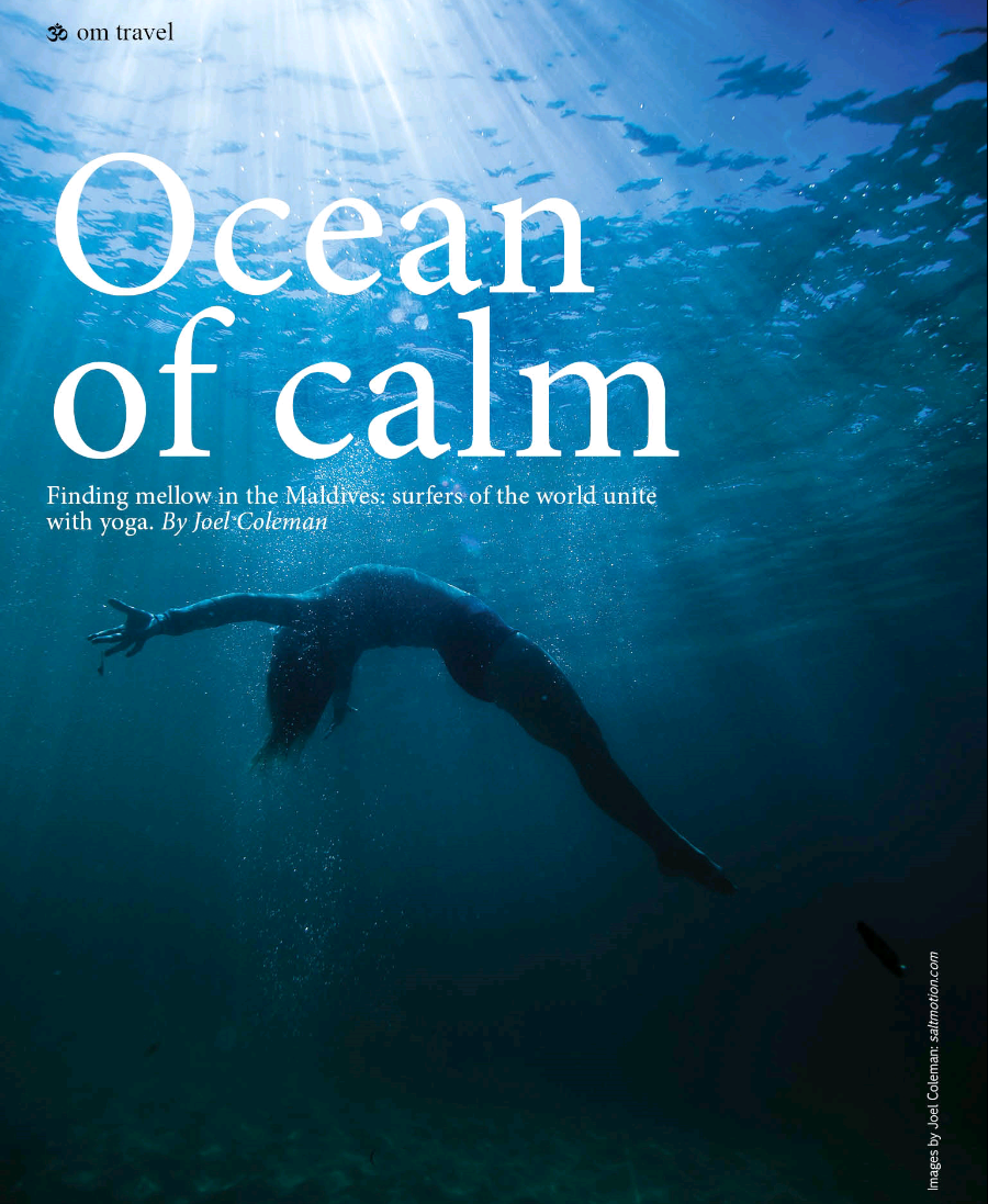 Om Yoga Magazine, Ocean of Calm