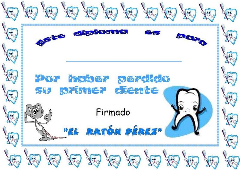 Mi Sala Amarilla El ratn Prez Poesas y diploma