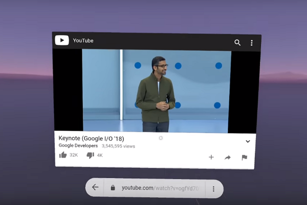 Chrome browser comes to Google Daydream View and Lenovo Mirage Solo with Daydream headsets