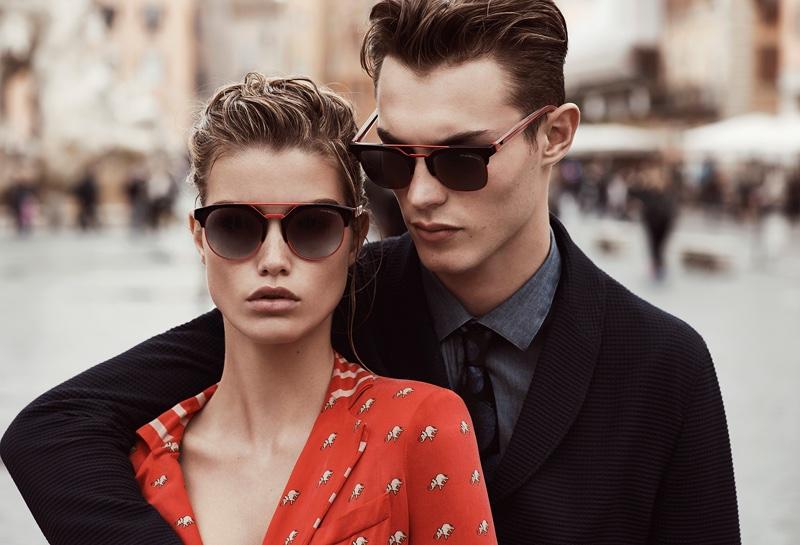 Emporio Armani eyewear spring-summer 2017 campaign