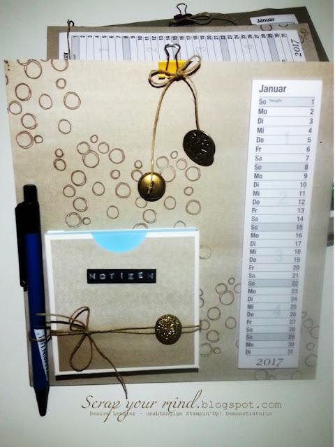 Kalender-Klemmbrett-Notizen