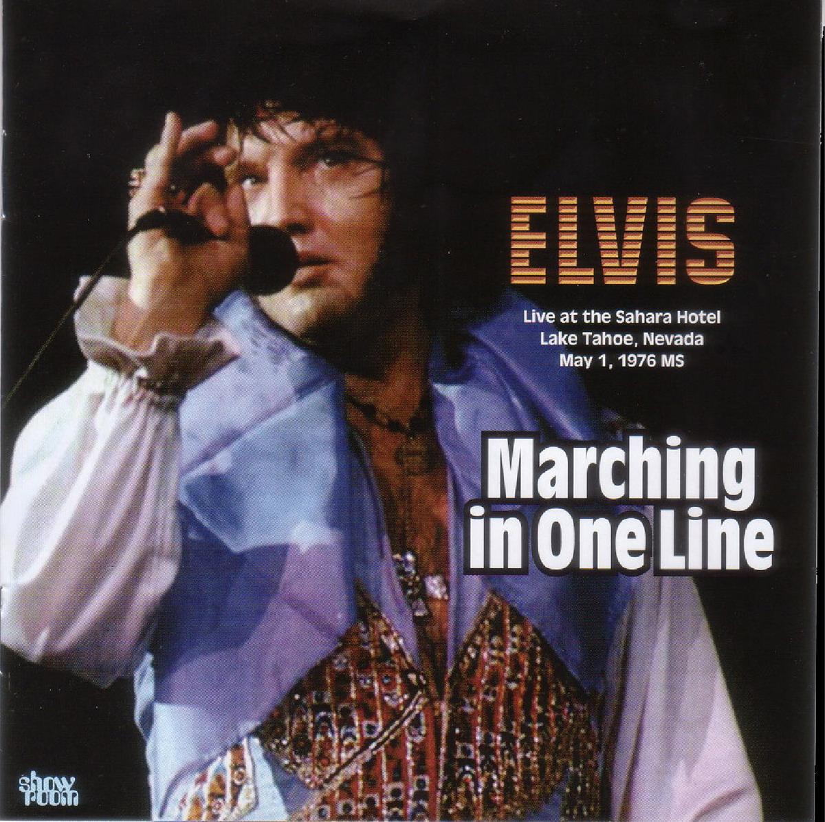 Bootlegging Elvis MARCHING IN ONE LINE
