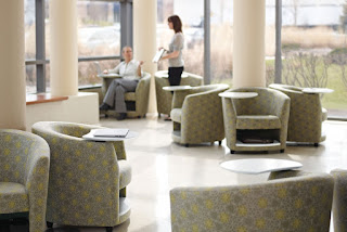 Reception Chairs with Storage Compartments at OfficeAnything.com