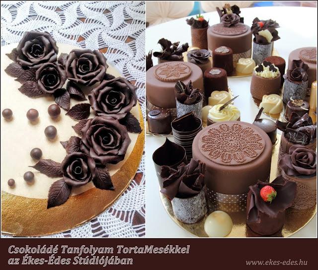 csokoládés sütemények