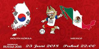 Prediksi Pertandingan Antara South Korea vs Mexico 23 JUNI 2018