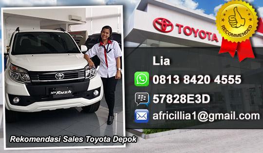 Rekomendasi Sales Toyota Margonda Depok