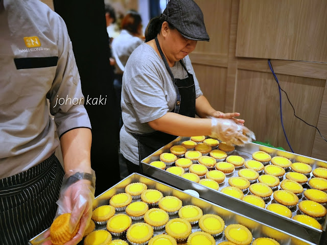 Nam Heong Egg Tarts in Mid Valley Southkey JB. Best Egg Tarts South of Macau?