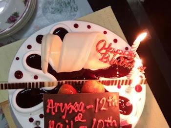 Happy Birthday to Aryssa Hani and Aqil Hayyi