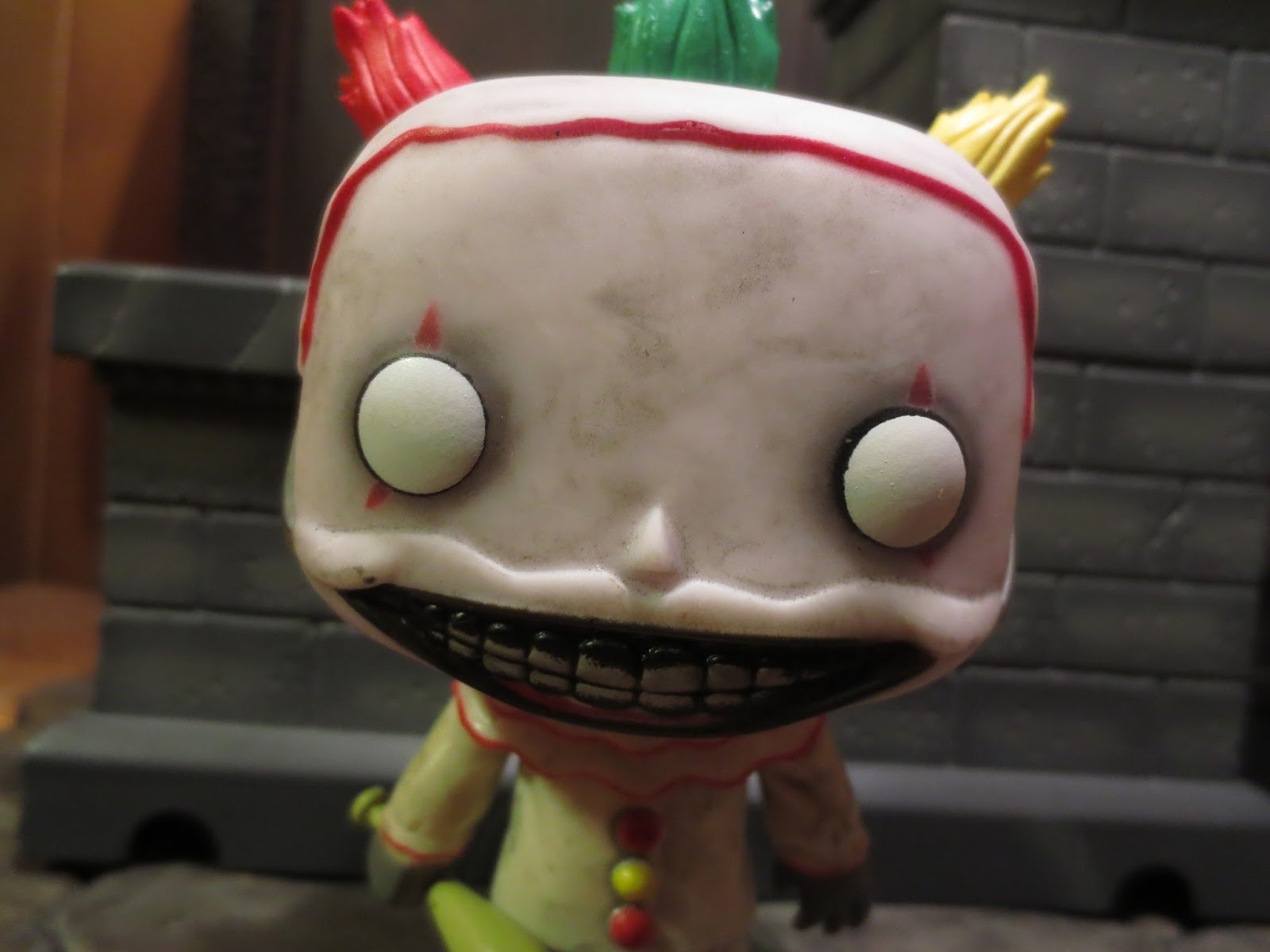 31 Days of Toy Terror Lives: Twisty from American Horror Story: Freak Show from Pop! Television by Funko