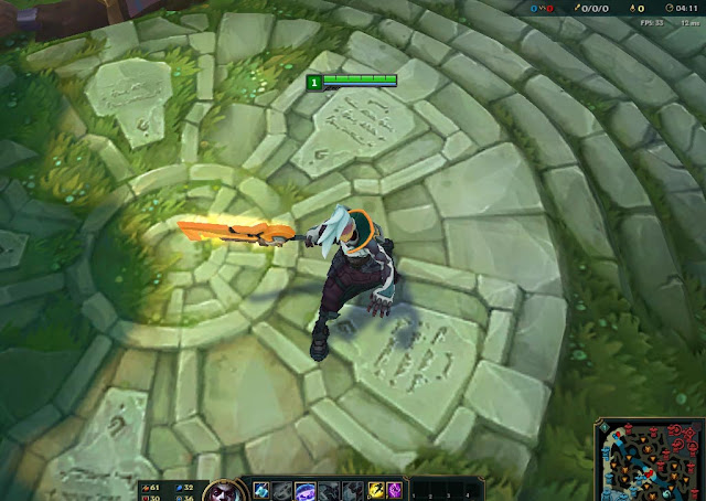 Mod Skin Ekko Orange Project