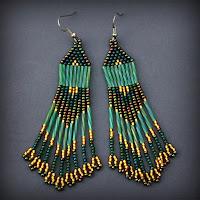 купить украшения из бисера в стиле бохо этно анна белоус