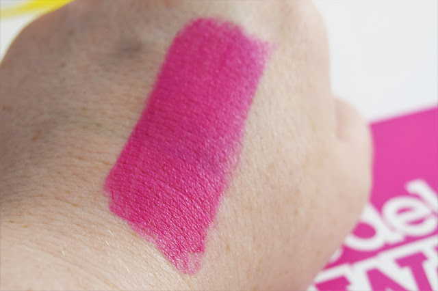 Models Own Luxestick Velvet Lipstick in Plush Peony Swatch