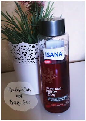 Verwöhnbad BERRY LOVE (mit Acaibeeren-Extrakt) von ISANA