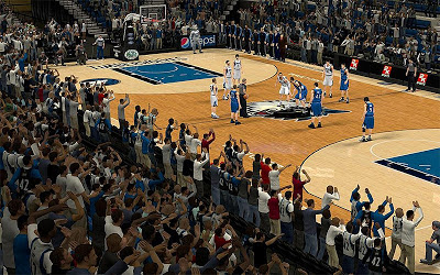 NBA 2K13 Minnesota Timberwolves Stadium Fans Patch