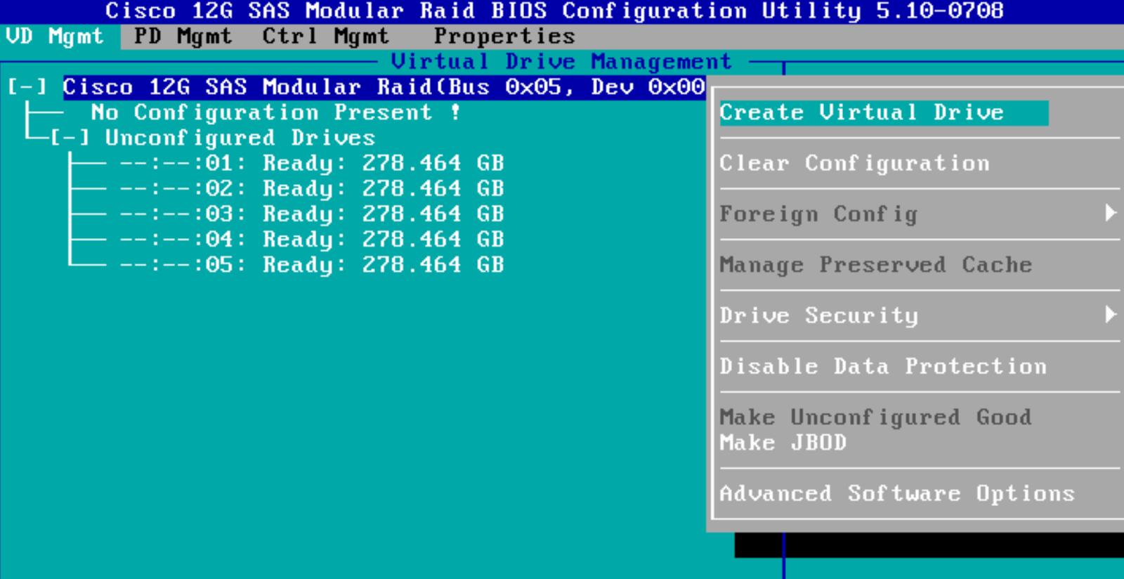 Rivald's Blog: Setting Up RAID Volumes on Cisco UCS C series