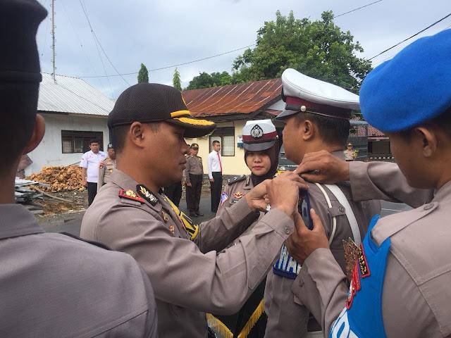 Polres Kep. Selayar, Laksanakan Apel Gelar Pasukan Operasi Keselamatan Berlalulintas 2018
