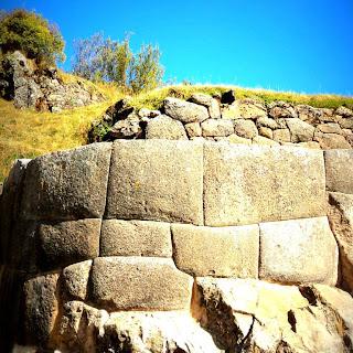 Muros de Pedra de Tambomachay, em Cusco