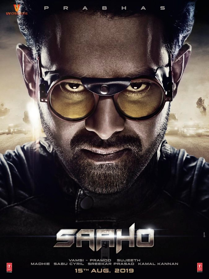 Saaho First Look Poster starring Prabhas and Shraddha, Film releases
