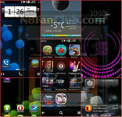 Xeon 3.5.1 Custom Firmware for Nokia N8