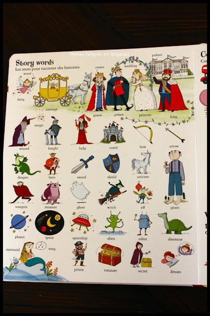 mon grand livre de mots illustrés en anglais usborne