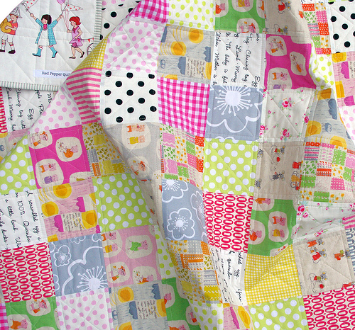 Nursery Versery Quilt A Picture Post