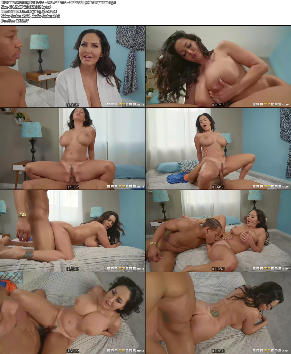 [18+] MommyGotBoobs - Ava Addams Porn Clip - Seduced By His Stepmom XXX Screenshot