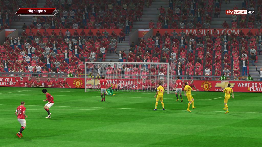 Arsenal vs Manchester United FTS 15 YouTube