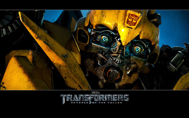 Wallpaper Bumblebee Transformer Face For Desktop