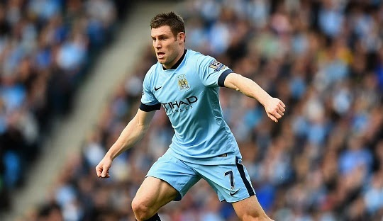Inter Milan to beat Arsenal for James Milner