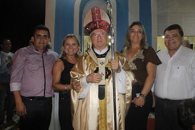 Prefeito Carlos Zamith  participa da Missa de instalação da Paróquia de Nossa Senhora do Perpétuo Socorro