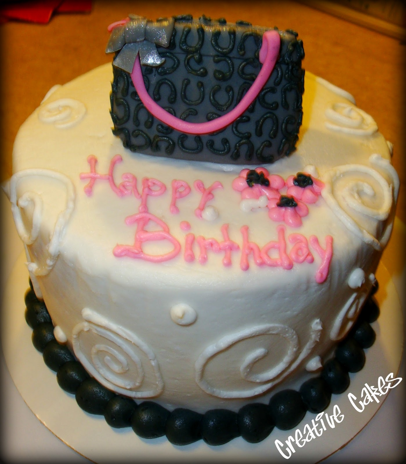 Awe Inspiring Coach Purse Birthday Cakes The Art Of Mike Mignola Birthday Cards Printable Giouspongecafe Filternl